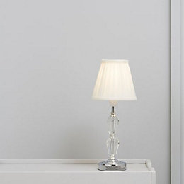 Colours Clara Cream Pleated Light shade (D)160mm