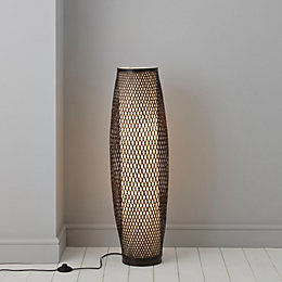 Joyce Chocolate Floor Lamp