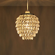 Becca Clear Crystal effect Beaded pineapple Light shade (D)170mm