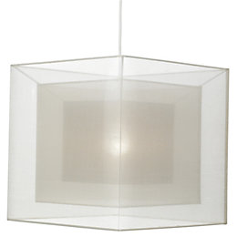 Colours Taylor Chocolate Triple Layered Light Shade (D)300mm
