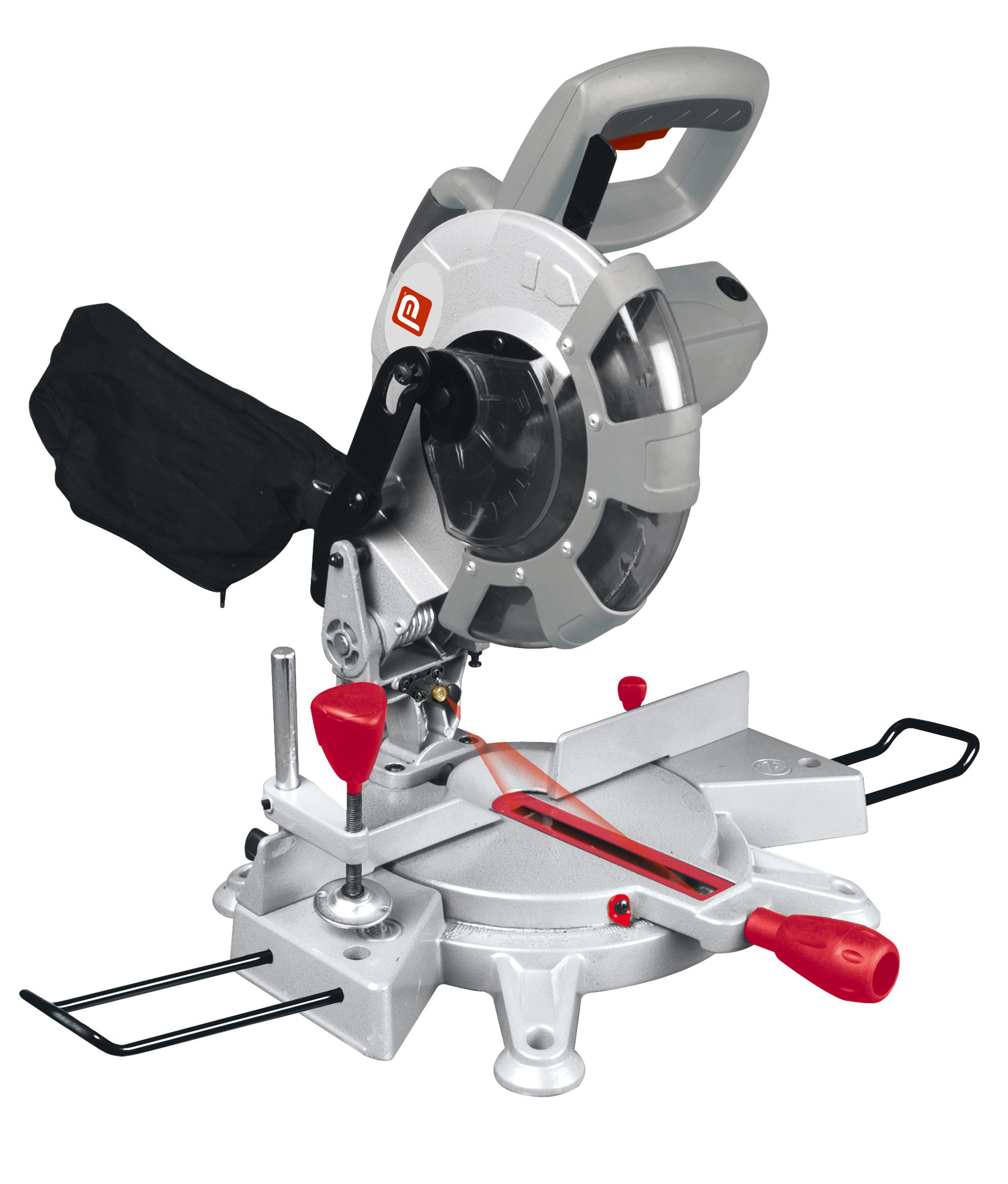 Performance Power 1700w 230v 210mm Compound Mitre Saw Bms210m Departments Diy At B Q