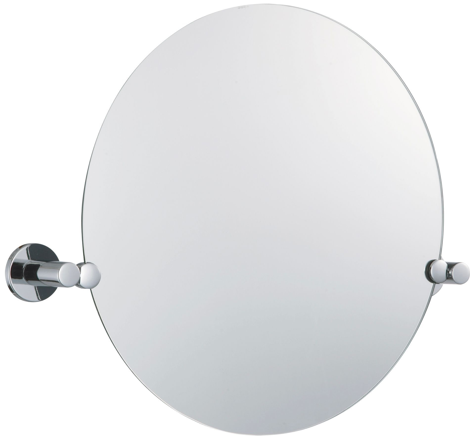 B&Q Cirque Circular Wall Mirror (W)450mm (H)550mm | Departments ...