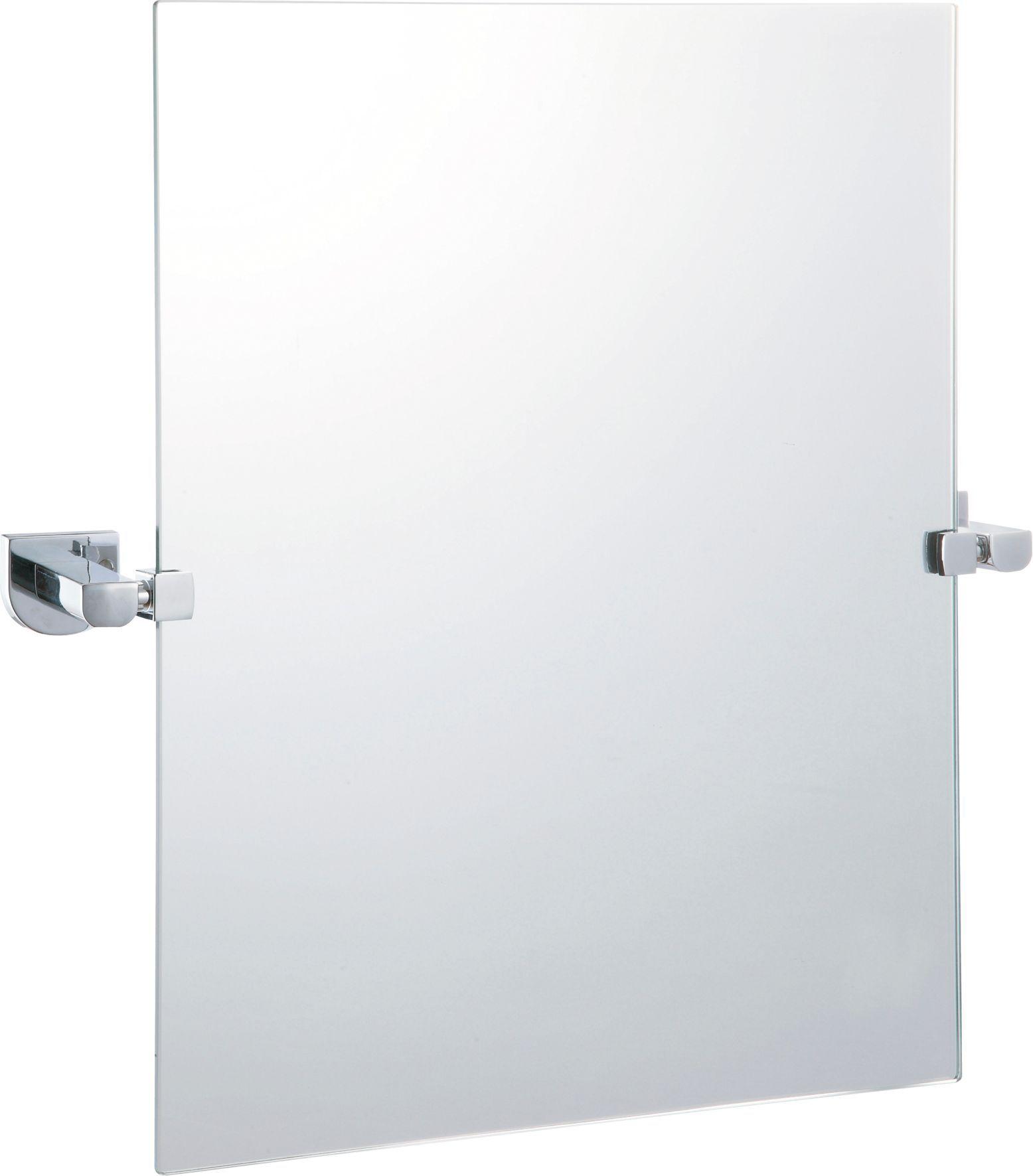 B&Q Axis Square Wall Mirror (W)497mm (H)500mm | Departments | DIY at B&Q