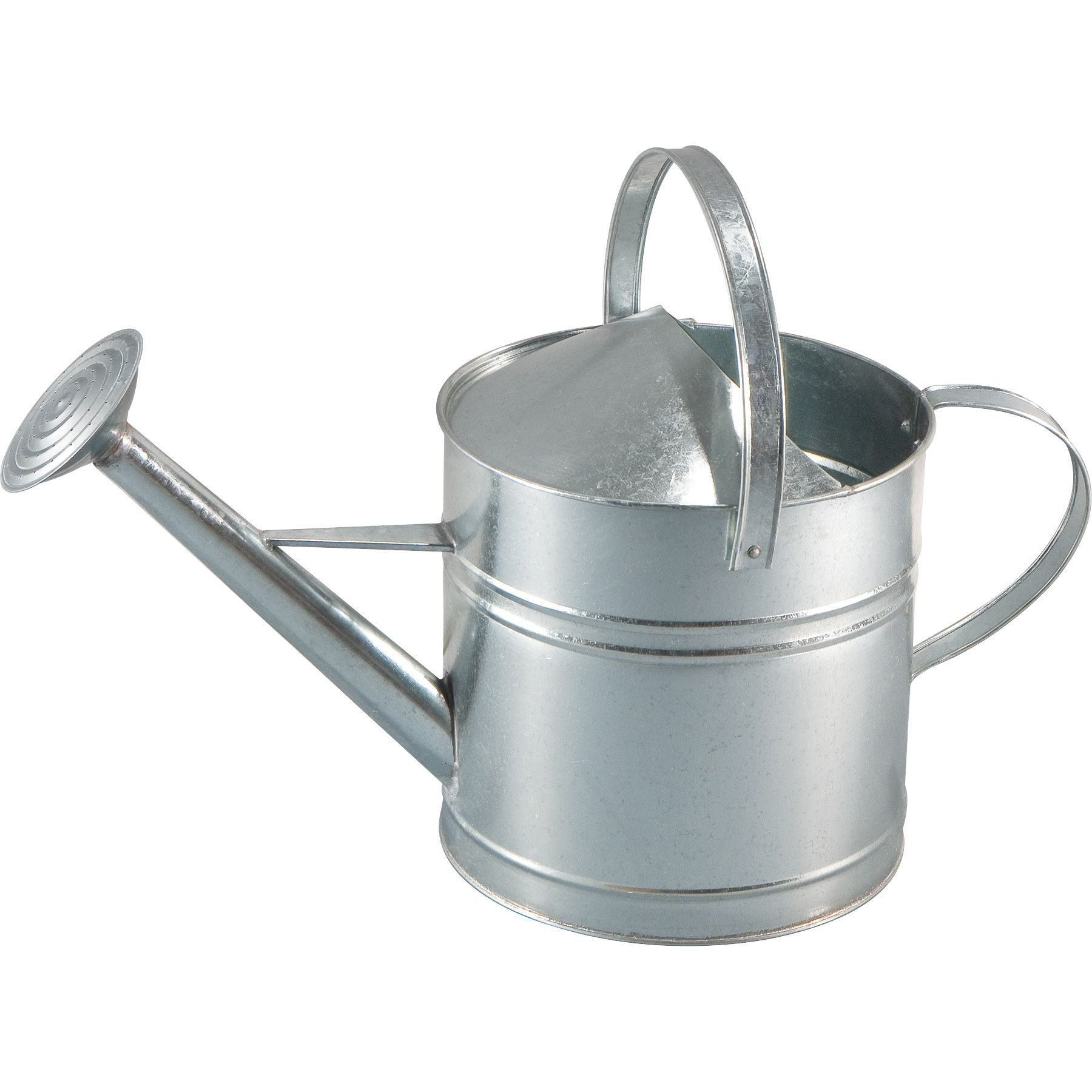 B Amp Q Galvanized Sheet Watering Can 9l Departments Diy