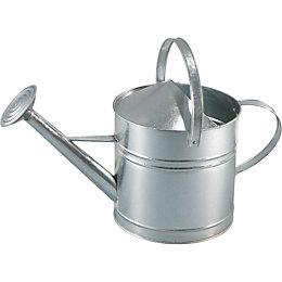 B&Q Galvanized Sheet Watering Can 9L