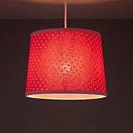 Colours Suisei Pink Polka dot Light shade (D)260mm