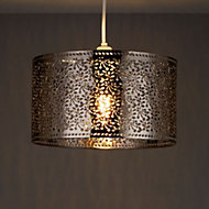 Colours Kinsei Bronze Bronze Effect Cutout Foliage Light Shade (D)280mm