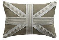 Camelot Union jack Beige Cushion