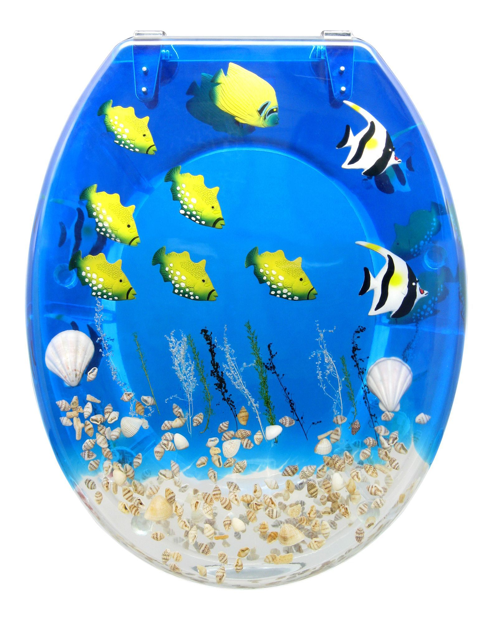 Multi Coloured Tropical Fish Toilet Seat Departments