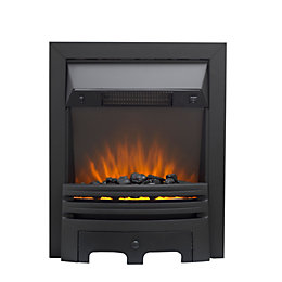 Westerly Black LED Electric Fire