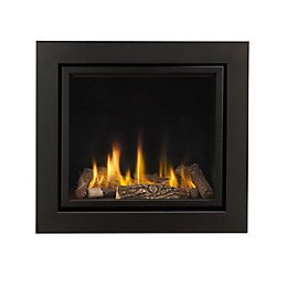 Ignite Black Remote Control Inset Gas Fire
