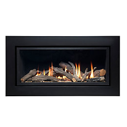 Ignite Pinnacle 860 Slide Control Inset Gas fire