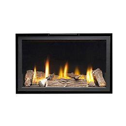 Ignite Pinnacle 600 Black Inset Gas Fire