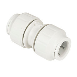 JG Speedfit Push Fit Straight Connector (Dia)15mm, Pack
