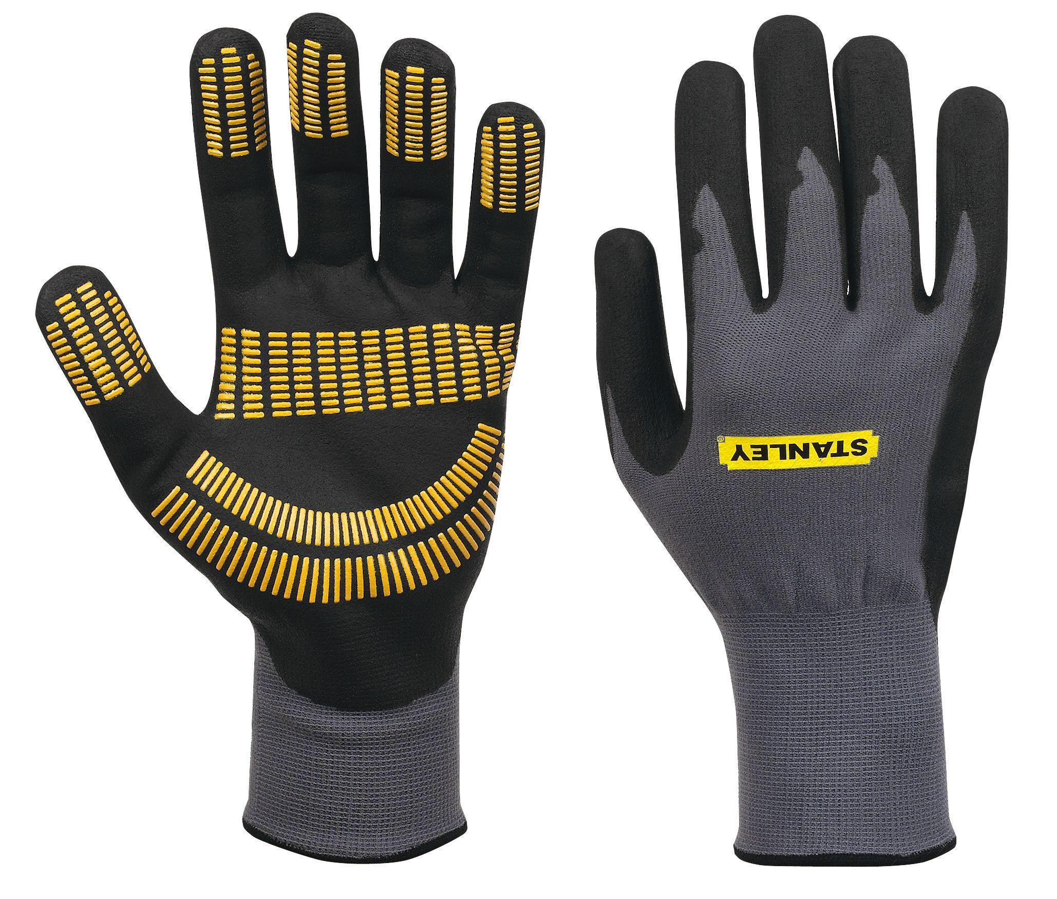 Stanley Large Nitrile Razor Gripper Gloves Departments
