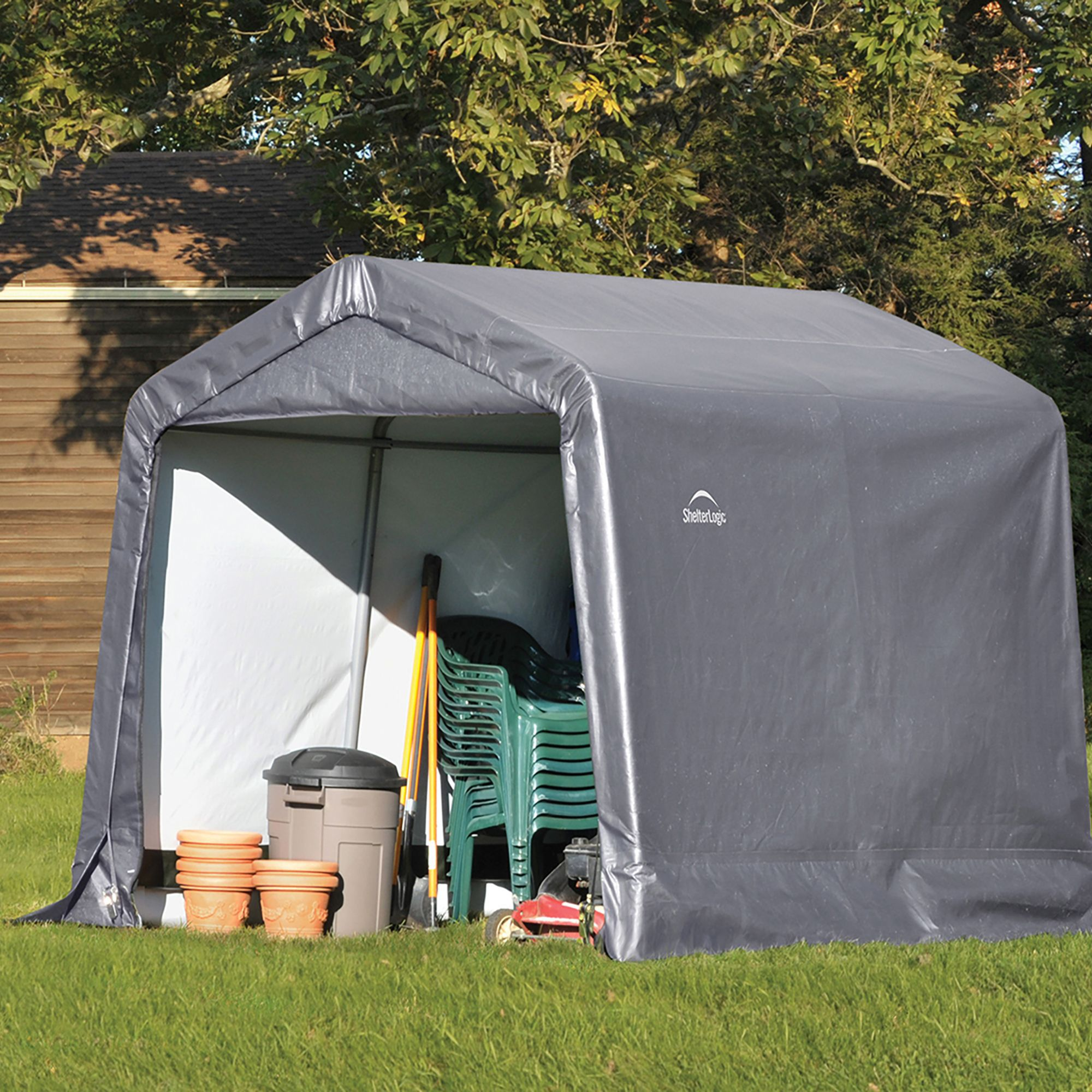 Shelterlogic & Sheds Cabins u0026 Summerhouses | Outdoor u0026 Garden
