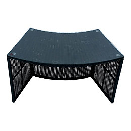 Rattan Spa bar table