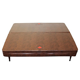 Canadian Spa Company Square Brown Cover, (L)2380mm