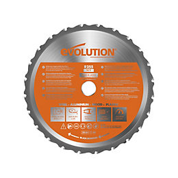 Evolution Rage (Dia)255mm Circular saw blade