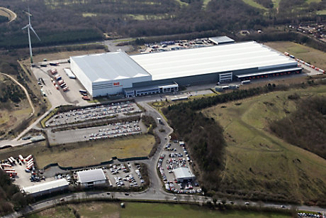 B&Q distribution centre