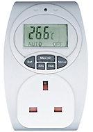 13A 1 gang Temperature controlled adaptor