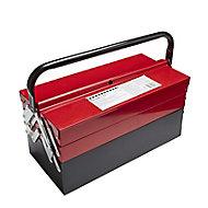 """17"""" Metal 5 compartment Toolbox"""