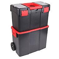 "18"" Polypropylene 2 compartment Toolbox"