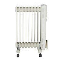 2000W Off-white Oil-filled radiator