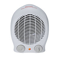 2000W White Freestanding Fan heater