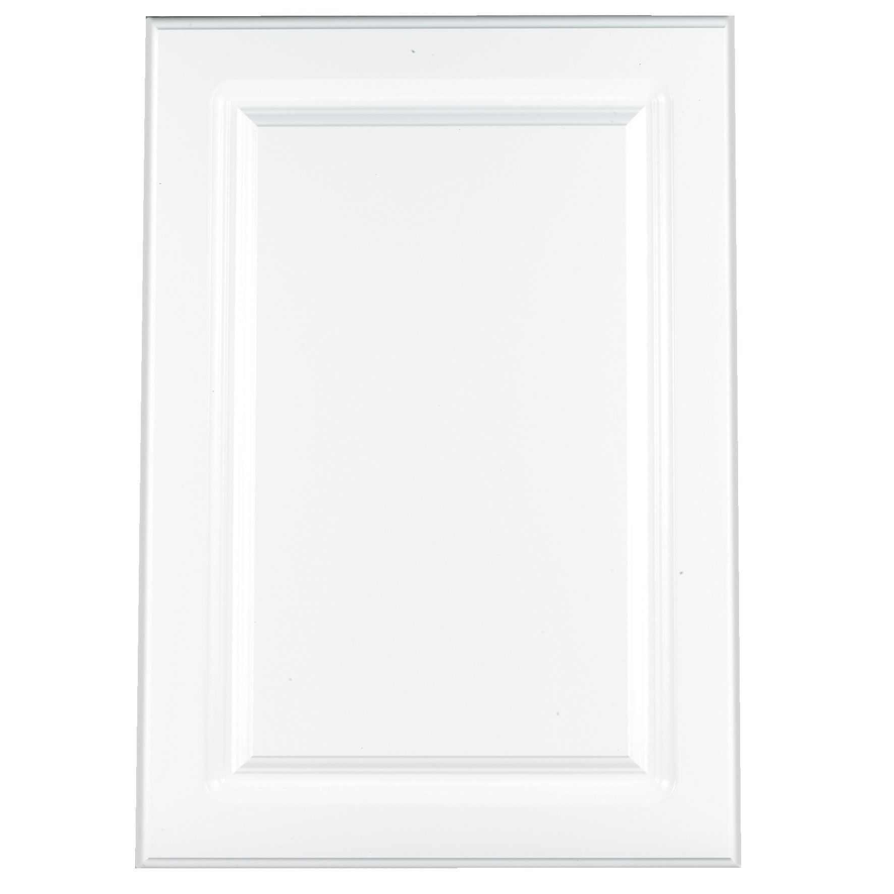 White Country Kitchen B Q: IT Kitchens Chilton Gloss White Style Standard Door (W