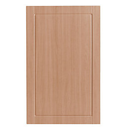 IT Kitchens Chilton Beech Effect Larder door (W)600mm,