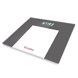 Terraillon Grey Slim Bathroom Scale