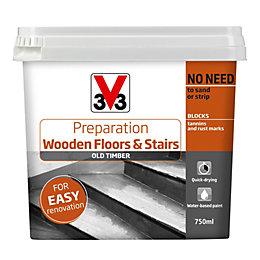 V33 Floor prep Wooden floors & stairs preparation