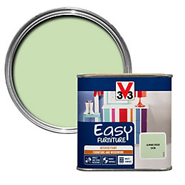 V33 Easy Almond Green Satin Furniture Paint 500