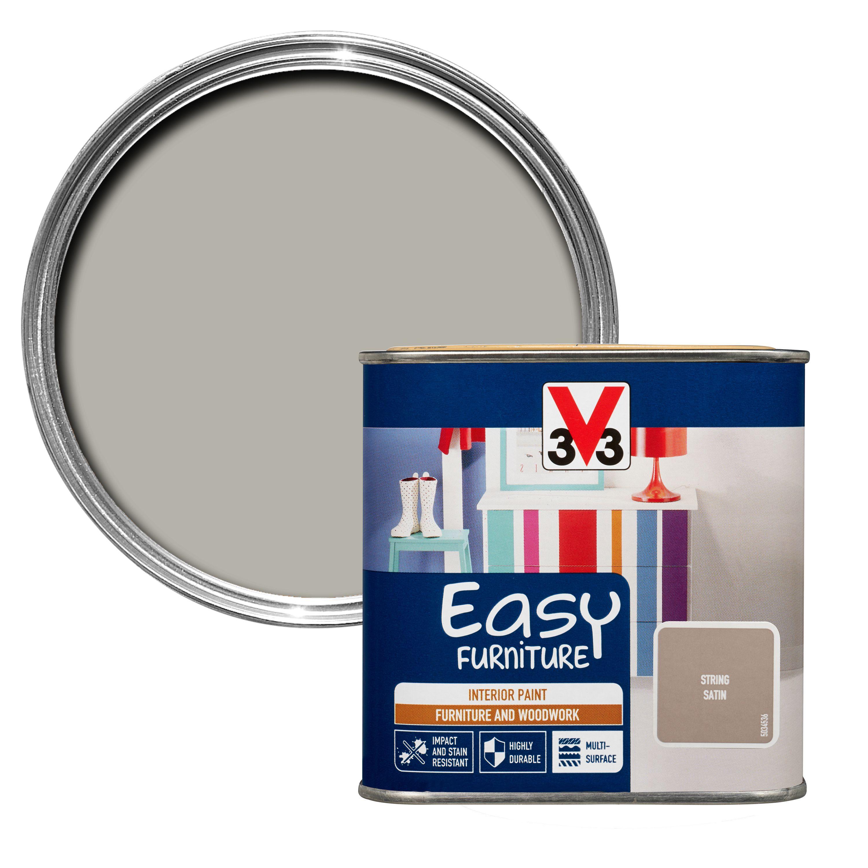 B Q Kitchen Cabinets Sale: V33 Easy String Satin Furniture Paint 500 Ml