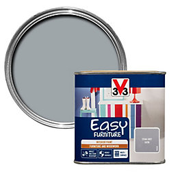 V33 Easy Stone grey Satin Furniture paint 500