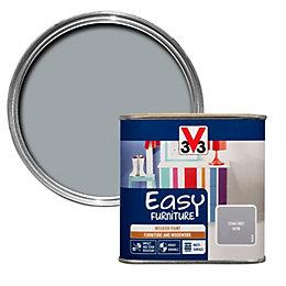 V33 Easy Stone grey Satin Furniture paint 500