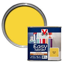 V33 Easy Lemon Zest Gloss Furniture Paint 500