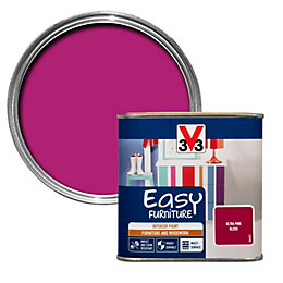 V33 Easy Ultra pink Gloss Furniture paint 500