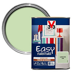 V33 Easy Almond green Satin Furniture paint 1000