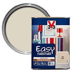 V33 Easy Linen Satin Furniture paint 1000 ml