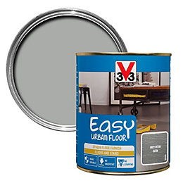 V33 Easy Grey Beton Satin Floor Varnish 750ml