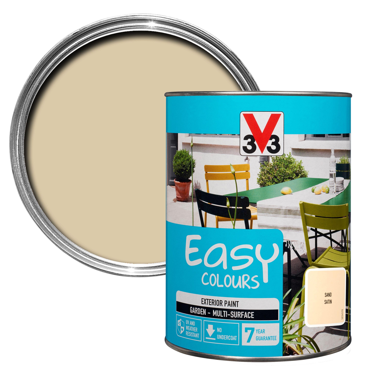 B Q Kitchen Cabinets Sale: V33 Easy Sand Satin Furniture Paint 1500 Ml