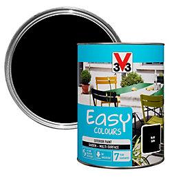 V33 Easy Black Satin Furniture paint 1500 ml