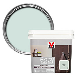 V33 Easy Sky Blue Satin Bathroom Paint 0.75L