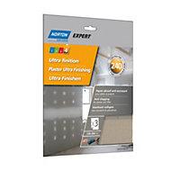 Norton 240 Grit Extra fine Sandpaper sheet, Pack of 3