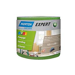 Norton 80 Medium Sandpaper Roll