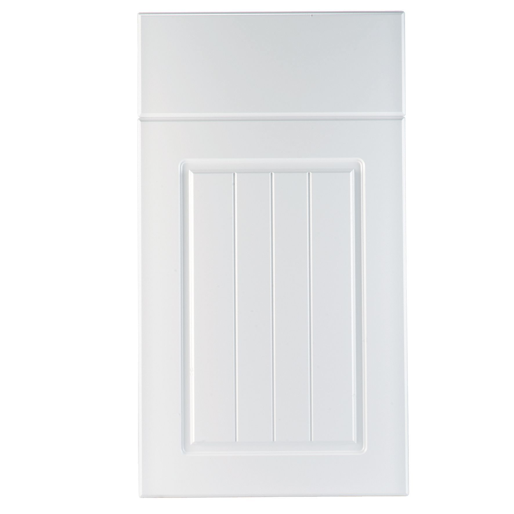 IT Kitchens Chilton White Country Style Drawerline Door