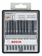 Bosch Bayonet fitting Jigsaw blade Pack of 10