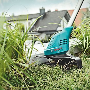 Bosch Easygrasscut 12-23 cordless grass trimmer with plant protector